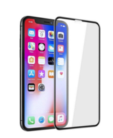 3D curved Full Screen Tempered Glass for iPhone X/ XS, black