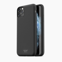 Magnetic Silicone Charging Case XVIDA for Iphone 11 Pro Max, black