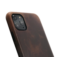 Leather Minim case for Iphone 11 Pro Max- brown